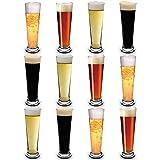RB Irrompible Vasos de Cerveza Pilsner Nucleados Premium 30cl, Set de 12