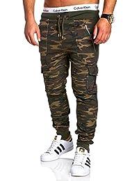 MT Styles Cargo pantalon de sport Biker - homme MA-2134