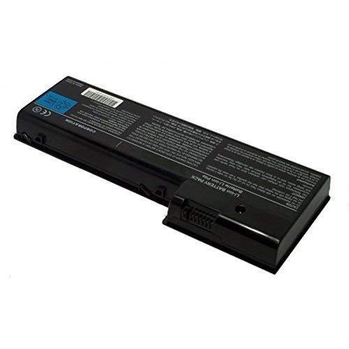 Mtxtec Accumulateur de Grande Capacité, Lion, 10.8V, 6600mAh, Noir, pour Toshiba Satego P100-490