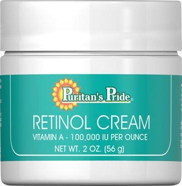 Retinol Cream (Vitamin A 100,000 Iu Per Ounce) - 2 Oz