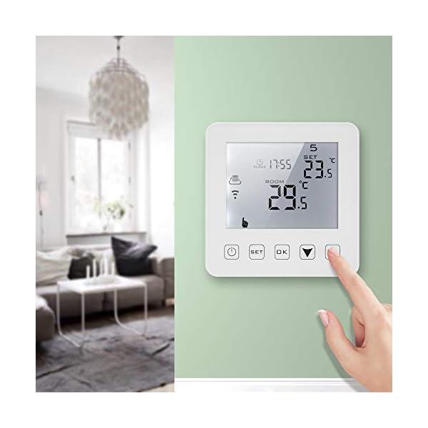 16A Programmabile LCD Screen Regolatore Termostato Di Riscaldamento Elettrico