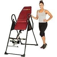 Preisvergleich für FITNESS REALITY 790XLT Inversionstisch mit Rückenkissen, verstellbar bis 1,98m Körpergrösse, 136kg maximales Benutzergewicht, volle vertikale Inversion bis 180 Grad