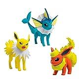 Pokèmon - Pack de 3 Figuras de Flareon,...