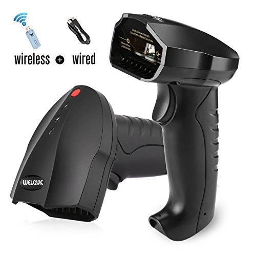 WELQUIC 2.4G Wireless USB Barcod...