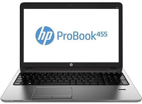 HP Probook 455 39,6 cm (15,6 Zoll) Notebook (AMD Athlon 64 4300M, 2,5GHz, 4GB RAM, 500GB HDD, AMD Radeon HD 7420G, Win 7 Pro) silber