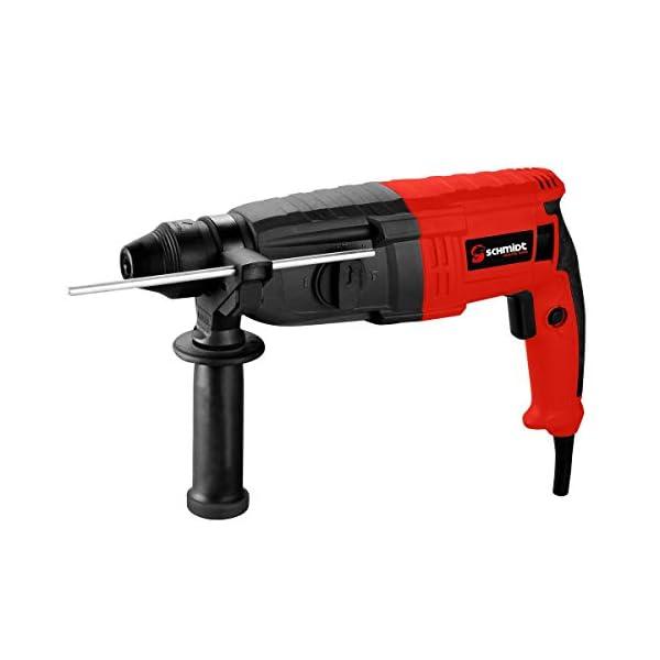 SCHMIDT security tools SDS-Plus Bohrhammer RH-1010 Meißelhammer 1010W 3,5J   Schlagbohren Bohren Meißeln inkl. Koffer…