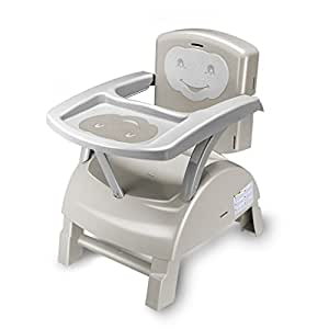 THERMOBABY Rehausseur de Chaise Gris/Ivoire