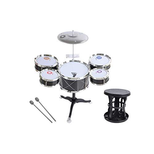 HXGL-Tambor Niños Batería Jazz Música Juguetes Percusión...