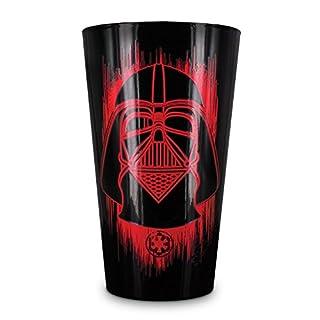 Star Wars Rogue One Darth Vader Glas mit Kälteeffekt - Star Wars Darth Vader Trinkglas Star Wars