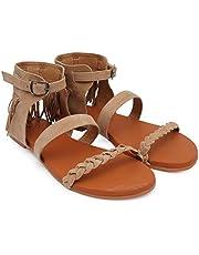 BK DREAM Women's Fashion Flat Sandals