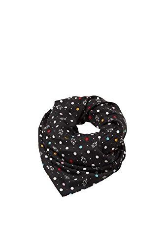 ESPRIT Accessoires Damen 018EA1Q014 Schal, Schwarz (Black 001), One size (Herstellergröße: 1SIZE)