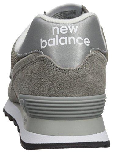 New Balance Herren Ml574E Sneaker, Grau (Grau/ML574EGG)