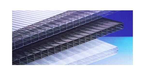 Polycarbonat Hohlkammerplatten 16 Mm Bronze Dreifachsteg 2000 X