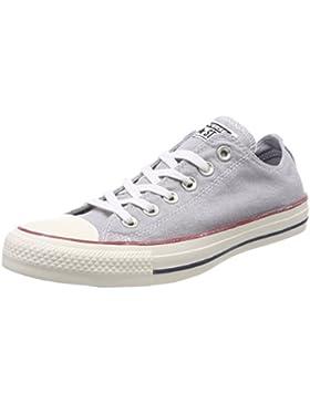 Converse Unisex-Erwachsene CTAS Ox Wolf Grey/White Sneaker