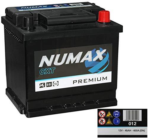 Numax Premium Batterie Voitures, 12V 45Ah 400 Amps (En)