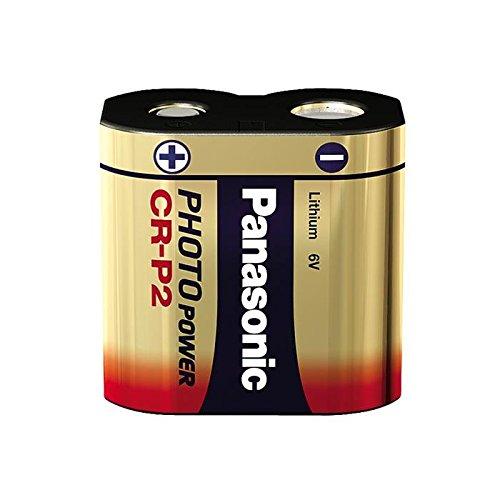 Panasonic – CR-P2, 6 V, 1400 mAh Li-ION, Photo, cr-p2l 1BP (Li-ION, Photo)