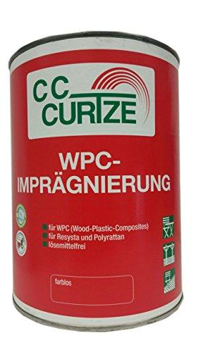 Curtze WPC Imprägnierung für (Wood-Plastic-Composites) farblos 0,75 Liter