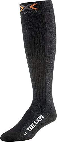 X-socks funktionssocken trekking expedition long,  unisex, antracite, 45/47