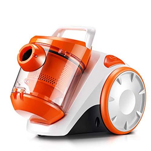 ZJBD Handstaubsauger, 1200w Hochleistungsstarker Saug-Horizontalstaubsauger Bionic-Bürstenkopf EIN Knopf zum Abnehmen der Funktion, Orange