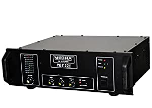 Medha D.J. Plus Pbt-501 High Power Mosfet Amplifier And Controllers With 1 Year Warranty