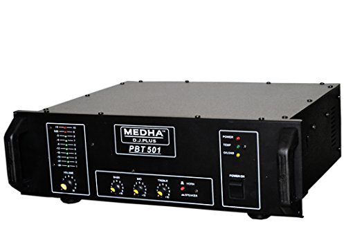Medha D.J. Plus PBT-501 High Power Mosfet Amplifier And Controllers