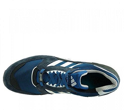 ADIDAS Schuhe Equipment Running Cushion Sneaker Dunkelblau/Petrol/Weiß
