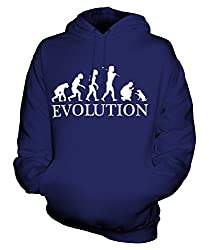 Candymix - Dog Training Evolution Of Man - Unisex Hoodie Mens Ladies Hooded Sweater