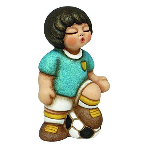 Thun f2404h90b calciatore, ceramica, multicolore, 8.5 x 6.6 x 12.2 cm