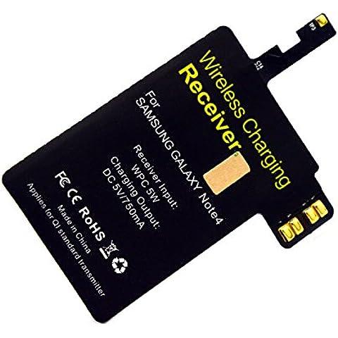 Módulo de receptor ultrafino QI cargador inalámbrico para el accesorio de carga Samsung Galaxy Note