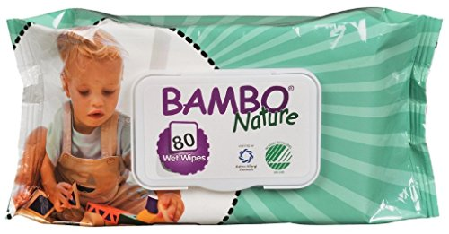 Bambo Nature Baby Wipes 80s 41HivZts38L