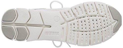 GEOX - D Sukie, Scarpa Tecnica da donna Bianco (Weiß (OFF WHITEC1002))