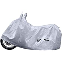 Amazon Brand - Solimo Royal Enfield Classic 350 Water Resistant Bike Cover (Silver)