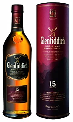 GLENFIDDICH Solera Reserve 15 Year Old Speyside Malt Whisky 70cl Bottle