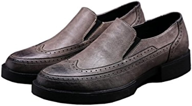 LYZGF Männer Jugend Geschaumlfts Freizeit Saumltze Von Fuß Mode faulen Lederschuhen  Billig und erschwinglich Im Verkauf