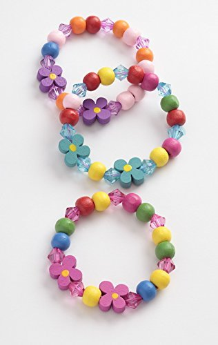 childrens-wooden-painted-and-acrylic-bead-stretch-bracelet-3-colours-1-ch