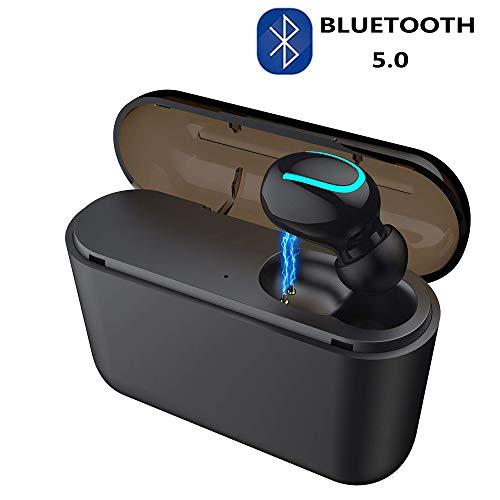 COOLEAD Kabellose Kopfhörer Bluetooth 5.0 Wireless Bluetooth Earbuds 3D Stereo Sound 6h Playtime Ladebox mit magnetischer Verbindung