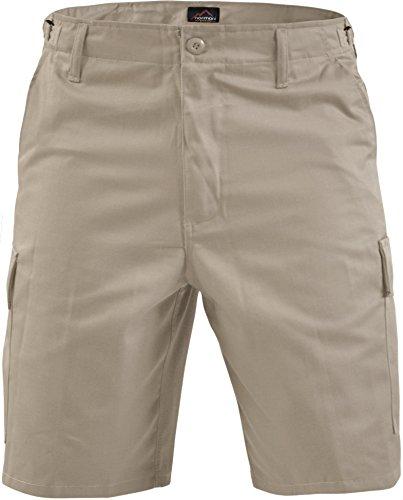 Kurze Bermuda Shorts US Army Ranger Feldhose Arbeitshose verschiedene Farben S - XXXL Khaki