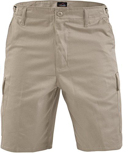 normani US Army Ranger Cargo Bermuda Farbe Khaki Größe M (Shorts Chino Khaki)