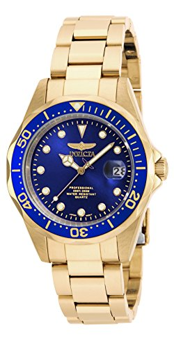 Invicta 17052 Pro Diver Unisex Wrist Watch Stainless Steel Quartz Blue Dial