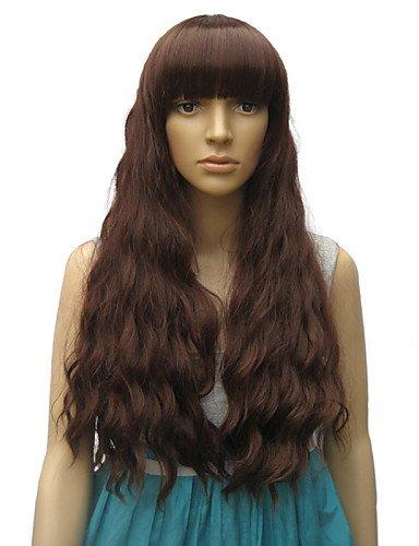 Mode Perücken WIGSTYLE 2015 neue Ankunfts geschweiften synthetische verworrene lockige lange Frauen Haarperücken große ()