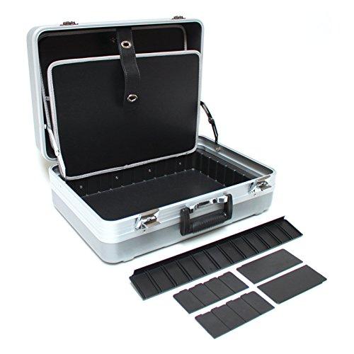 DEMA Werkzeugkoffer ABS grau 6+ - 4