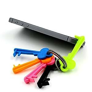 Ariic Lots 5Pcs 5X Universal Keychain Holder Bracket Stand for iPhone Smartphone