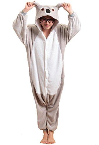 Pink Damen Panther Kostüm (Honeystore Unisex Flannel Hoodie Jumpsuit Pyjamas Trickfilm Cosplay Kostüm Pyjamas XL)