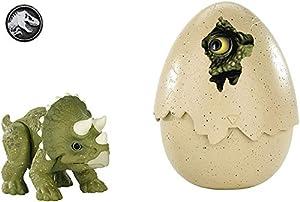 Jurassic World Dino recién nacido Triceratops, dinosaurio de juguete (Mattel FMB94)