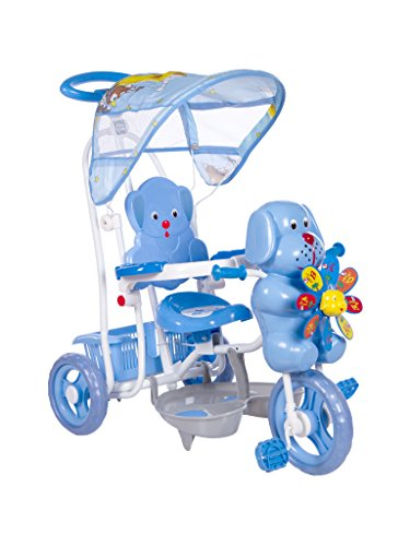 Mee Mee Tricycle with Rocking Function and Canopy (Blue)