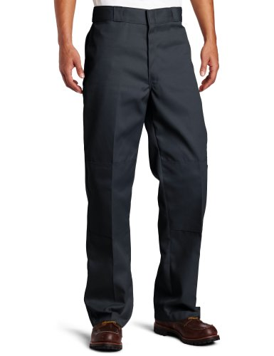 Dickies D/Knee Work Pant, Pantaloni da Uomo Charcoal
