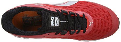 Puma Faas 600 V2, Unisex-Erwachsene Laufschuhe Training Rot (Red/Silver/Blk)