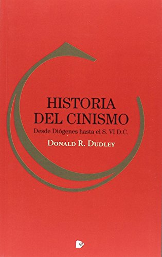 Historia del cinismo por Donald Reynolds Dudley