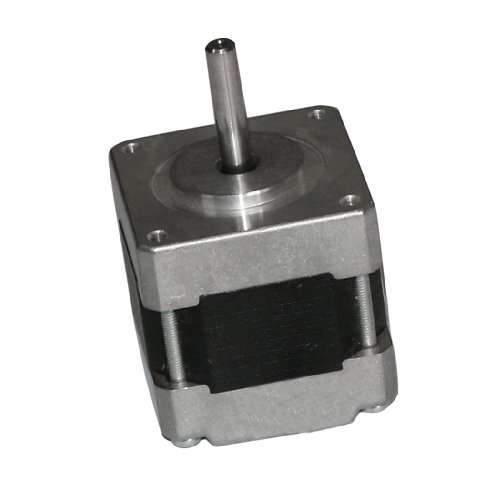 AUBIG DC 12V 0.4A 4-Draht 34mm 1.8° Mikro Schrittmotor Hybrid Stepper Motor für 3D Drucker Elektronik Maschinenbau Medizin Textil-Technik