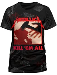 Official Metallica - In-Grained Kill Em All - All over T Shirt